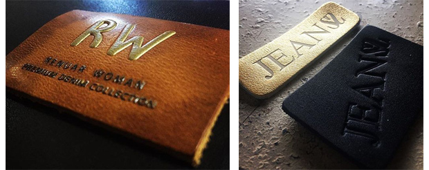 identify real leather&artificial leather-leather patches