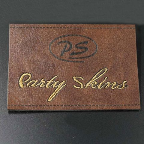 Leather patches, leather labels-BP printing&package Co , Ltd