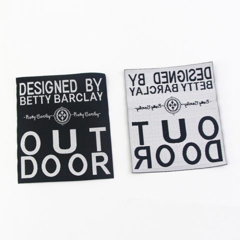Custom woven labels no minimum | BP printing and package