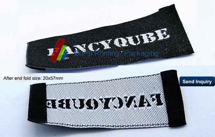 branded woven labels