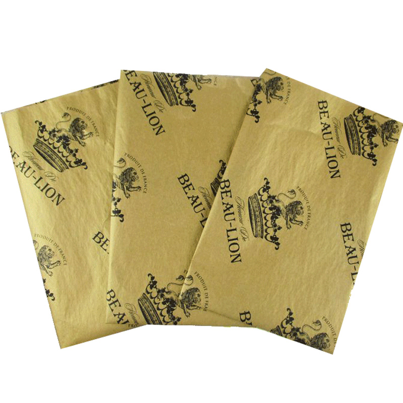 Custom Logo 17gsm Tissue Wrapping Paper For Factory Price