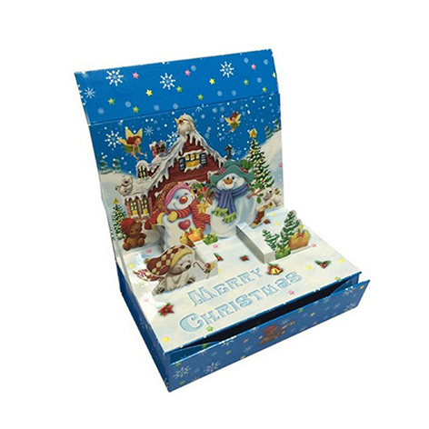 Advance Paper Box Company Wholesale A 3D Origami Christmas Paper Box of Paper for Gift Packaging