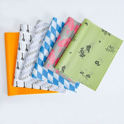 Decorative Tissue Paper Wrap Floral Wrapping Paper Tissue Paper Wrapping