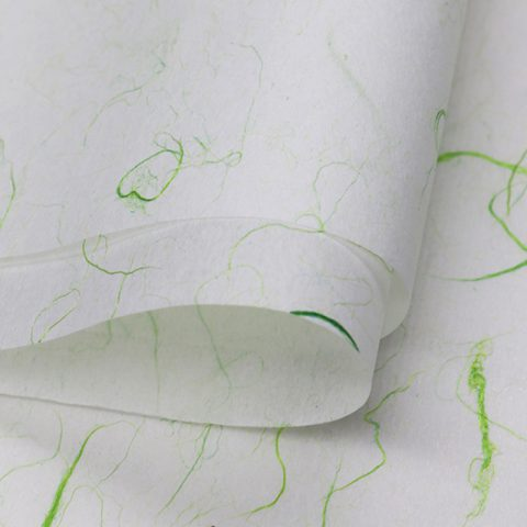 Custom Printed Greenery Wrapping Paper Wraps for Flowers