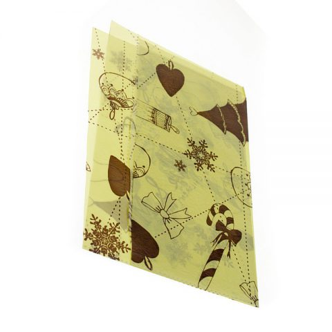 tissue paper with designs